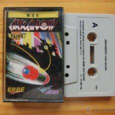 Videojuegos y Consolas: JUEGO ORIGINAL ARCANOID MSX (ERBE SOFTWARE) AÑO 1987. Lote 45438419
