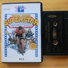 Videojuegos y Consolas: JUEGO ORIGINAL BRIAN JACKS SUPERSTAR CHALLENGE PARA MSX. Lote 45438539