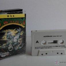 Videojuegos y Consolas: JUEGO PARA MSX DESPERADO DE TOPO. Lote 45709325