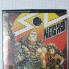Videojuegos y Consolas: JUEGO CASSETTE MSX - SOL NEGRO. Lote 45827366