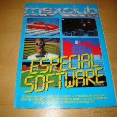 Videojuegos y Consolas: REVISTA MSX CLUB DE PROGRAMAS ESPECIAL SOFTWARE. Lote 46727760