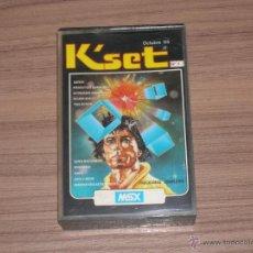 Videojuegos y Consolas: KSET COMPLETO MSX MSX2 5 JUEGOS Y PROGRAMAS COMPLETOS. Lote 48321439