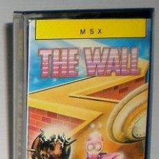 Videogiochi e Consoli: THE WALL [ERBE SOFTWARE] 1985 ERBE SOFTWARE [MSX]. Lote 48463503