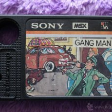 Videojuegos y Consolas: GANG MAN MSX SONY HIT BIT. Lote 48627380