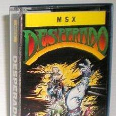 Videojuegos y Consolas: DESPERADO [TOPO SOFTWARE] 1987 ERBE SOFTWARE [MSX]. Lote 43342239