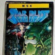 Videojuegos y Consolas: STAR DUST [TOPO SOFT] 1987 ERBE SOFTWARE [MSX] STARDUST. Lote 42670078