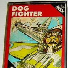 Videojuegos y Consolas: DOG FIGHTER [HUDSON SOFT] 1984 [AACKOSOFT] [MSX] ZERO FIGHTER. Lote 42671625