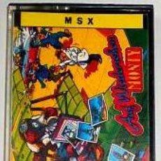 Videojuegos y Consolas: AUF WIEDERSEHEN MONTY [GREMLIN GRAPHICS] 1987 - ERBE SOFTWARE [MSX]. Lote 43342008