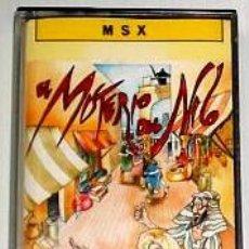 Videojuegos y Consolas: EL MISTERIO DEL NILO FROM ZIGURAT [MADE IN SPAIN] 1987 ERBE SOFTWARE [MSX]. Lote 43342356