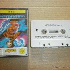 Videojuegos y Consolas: JUEGO MSX WINTER GAMES. Lote 49340292