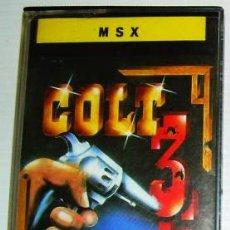 Videojuegos y Consolas: COLT 36 [TOPO SOFTWARE] 1987 - ERBE SOFTWARE [MSX]. Lote 50309764