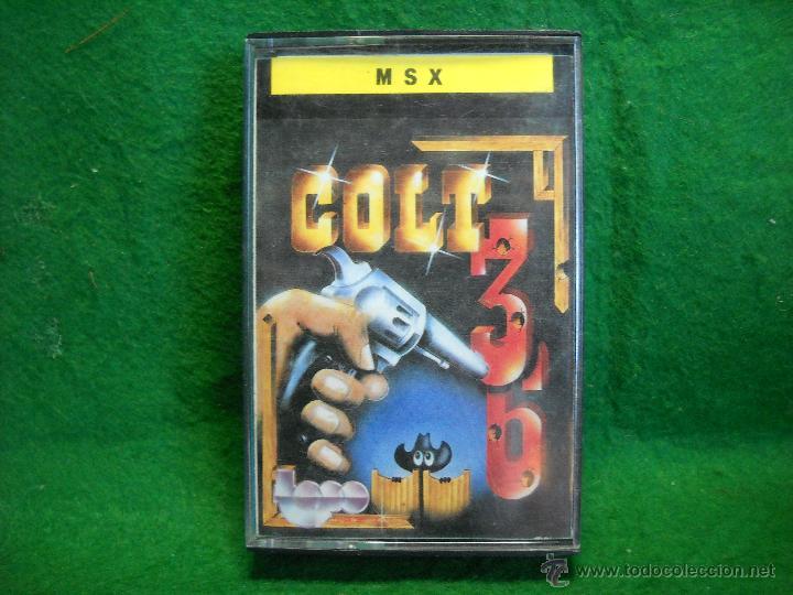 JUEGO MSX COLT 36 (Juguetes - Videojuegos y Consolas - Msx)