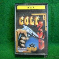 Videojuegos y Consolas: JUEGO MSX COLT 36. Lote 50933232
