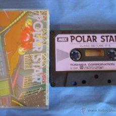 Videojuegos y Consolas: JUEGO MSX CASETE POLAR STAR MADE IN JAPAN. Lote 50978236