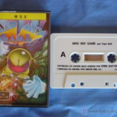 Videojuegos y Consolas: JUEGO MSX CASETE MAD MIX GAME POR TOPO SOFT. Lote 50979297