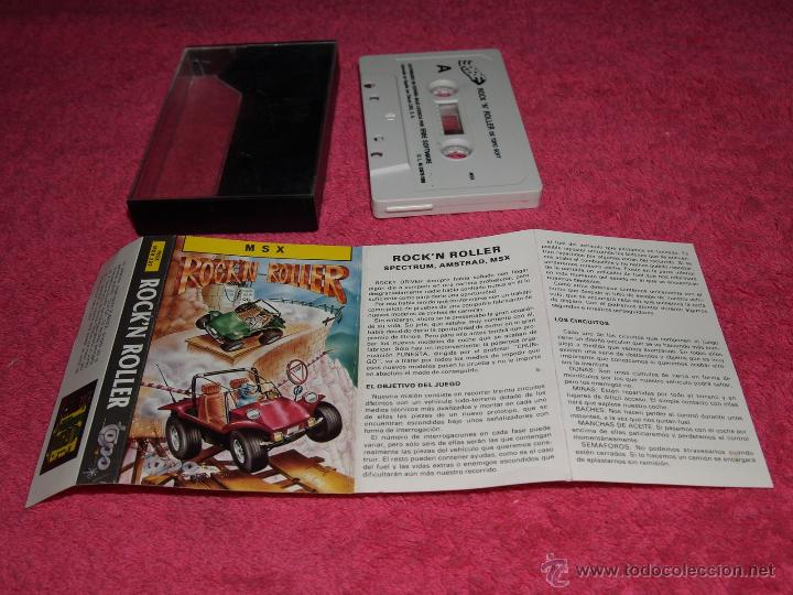 GAME FOR MSX BY TOPO SOFT ROCK´N ROLLER SPANISH VERSION 1988 (Juguetes - Videojuegos y Consolas - Msx)