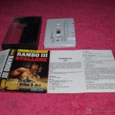 Videojuegos y Consolas: GAME FOR MSX ERBE RAMBO III SPANISH VERSION 1988. Lote 51782989