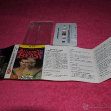 Videojuegos y Consolas: GAME FOR MSX MCM ALTERED BEAST SPANISH VERSION ACTIVISION 1989. Lote 51783053