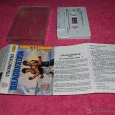 Videojuegos y Consolas: GAME FOR MSX DRAGON NINJA SPANISH VERSION BY OCEAN 1989. Lote 51783076