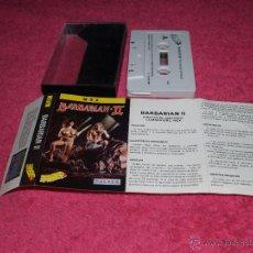 Videogiochi e Consoli: GAME FOR MSX PALACE BARBARIAN II SPANISH VERSION 1989 ERBE. Lote 51783130