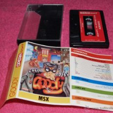 Videojuegos y Consolas: GAME FOR MSX GOODY SPANISH VERSION BY OPERA SOFT. Lote 51783157