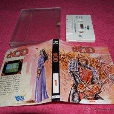 Videogiochi e Consoli: GAME FOR MSX 1987 EL CID SPANISH VERSION BY DRO SOFT. Lote 51783349