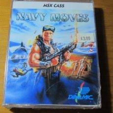 Videojuegos y Consolas: NAVY MOVES DINAMIC MSX EDICIÓN INTERNACIONAL. PRECINTADO (NO AMSTRAD NO SPECTRUM). Lote 51967167