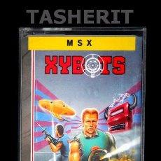 Videojuegos y Consolas: XYBOTS - MSX MSX2 CINTA CASETE VERSION ESPAÑOLA ERBE JUEGO CASETTE TENGEN. Lote 52063430