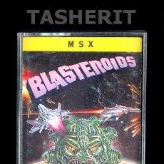 Videojuegos y Consolas: BLASTEROIDS - MSX MSX2 CINTA CASETE VERSION ESPAÑOLA MCM SOFTWARE JUEGO CASETTE IMAGEWORKS. Lote 52078691