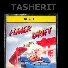 Videojuegos y Consolas: POWER DRIFT - MSX MSX2 CINTA CASETE VERSION ESPAÑOLA MCM SOFTWARE JUEGO CASETTE ACTIVISION. Lote 52093407
