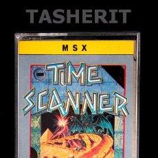 Videojuegos y Consolas: TIME SCANNER - MSX MSX2 CINTA CASETE VERSION ESPAÑOLA MCM SOFTWARE JUEGO CASETTE ACTIVISION. Lote 52094300