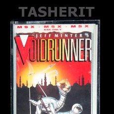 Videojuegos y Consolas: VOIDRUNNER - MSX MSX2 CINTA CASETE VERSION ESPAÑOLA MAD SOFT JUEGO CASETTE. Lote 52104003