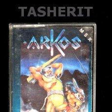 Videojuegos y Consolas: ARKOS - MSX MSX2 CINTA CASETE VERSION ESPAÑOLA ZIGURAT CASETTE RETRO. Lote 52120190