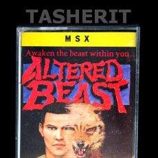 Videojuegos y Consolas: ALTERED BEAST - MSX MSX2 CINTA CASETE VERSION ESPAÑOLA MCM SOFTWARE CASETTE RETRO SEGA. Lote 52121203