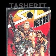 Videojuegos y Consolas: SOL NEGRO - MSX MSX2 CINTA CASETE VERSION ESPAÑOLA OPERA SOFT CASETTE RETRO. Lote 52121732