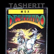 Videojuegos y Consolas: DESPERADO - MSX MSX2 CINTA CASETE VERSION ESPAÑOLA TOPO SOFT CASETTE RETRO. Lote 109508920