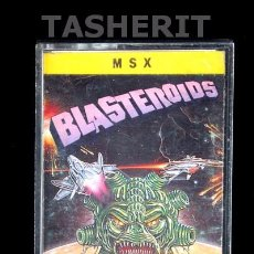 Videojuegos y Consolas: BLASTEROIDS - MSX MSX2 CINTA CASETE VERSION ESPAÑOLA MCM SOFTWARE CASETTE RETRO IMAGEWORKS. Lote 52122005