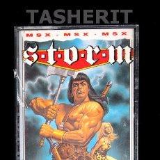 Videojuegos y Consolas: STORM - MSX MSX2 CINTA CASETE VERSION INGLESA MASTERTRONIC CASETTE RETRO. Lote 52122153