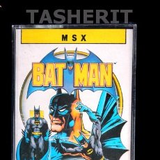 Videojuegos y Consolas: BATMAN - MSX MSX2 CINTA CASETE VERSION ESPAÑOLA ERBE CASETTE RETRO OCEAN. Lote 52122313