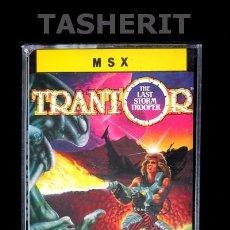 Videojuegos y Consolas: TRANTOR - MSX MSX2 CINTA CASETE VERSION ESPAÑOLA ERBE CASETTE RETRO GO. Lote 52122503