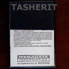 Videojuegos y Consolas: SEA HUNTER - MSX MSX2 CINTA CASETE VERSION ESPAÑOLA DYNADATA CASETTE RETRO. Lote 52136917