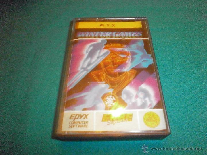 JUEGO MSX WINTER GAMES (Juguetes - Videojuegos y Consolas - Msx)