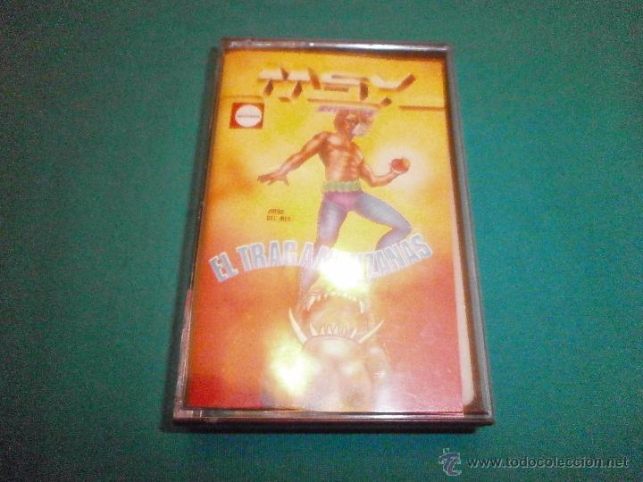 JUEGO MSX EL TRAGAMANZANAS (Juguetes - Videojuegos y Consolas - Msx)