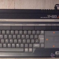 Videojuegos y Consolas: ORDENADOR AÑOS 80 MSX CANON V-20 64 K. Lote 52640886