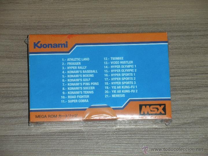 Videojuegos y Consolas: Cartucho MSX MSX2 21 Juegos KONAMI COMPILATION Vol.1 FROGGER , TWIN BEE , NEMESIS ,ROAD FIGHTER etc - Foto 2 - 232322160