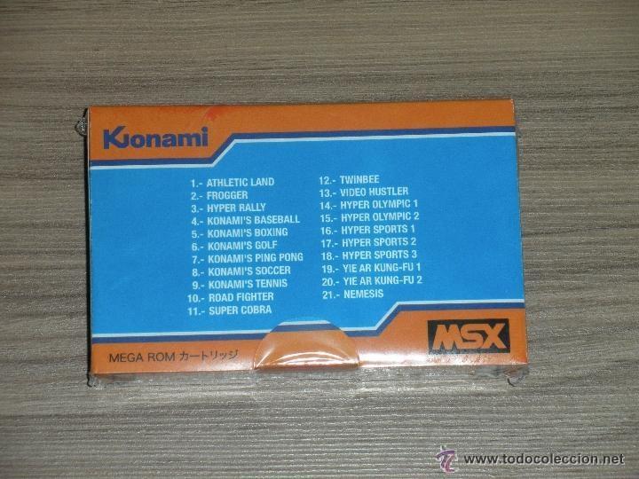 Videojuegos y Consolas: Cartuchos MSX MSX2 35 Juegos KONAMI COMPILATION Vol.1 FROGGER , PIPPOLS , MAGICAL TREE , etc NUEVOS - Foto 4 - 252700660