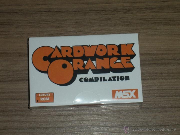 CARTUCHO COMPILATION MSX MSX2 20 JUEGOS ZANAC - ZANAC 2 - PITFALL 2 - H.E.R.O... NUEVO PRECINTADO (Juguetes - Videojuegos y Consolas - Msx)