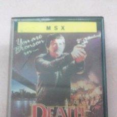 Videojuegos y Consolas: DEATH WISH JUEGO MSX ERBE AÑO 1987. Lote 52845220