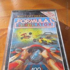 Videojuegos y Consolas: FORMULA 1 SIMULATOR - JUEGO VIDEOCONSOLA PHILIPS MSX PAL - COMPLETO --. Lote 53115220