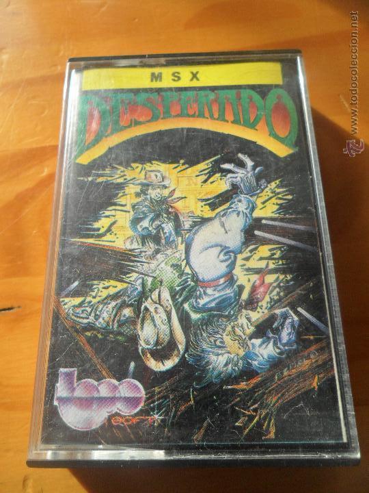 DESPERADO - JUEGO VIDEOCONSOLA PHILIPS MSX PAL - COMPLETO -- (Juguetes - Videojuegos y Consolas - Msx)
